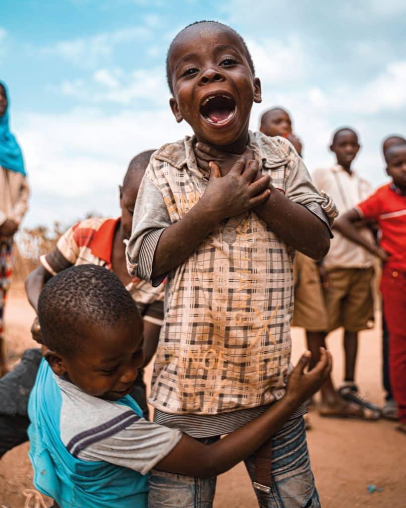 Kinder in Arusha (Tansania).