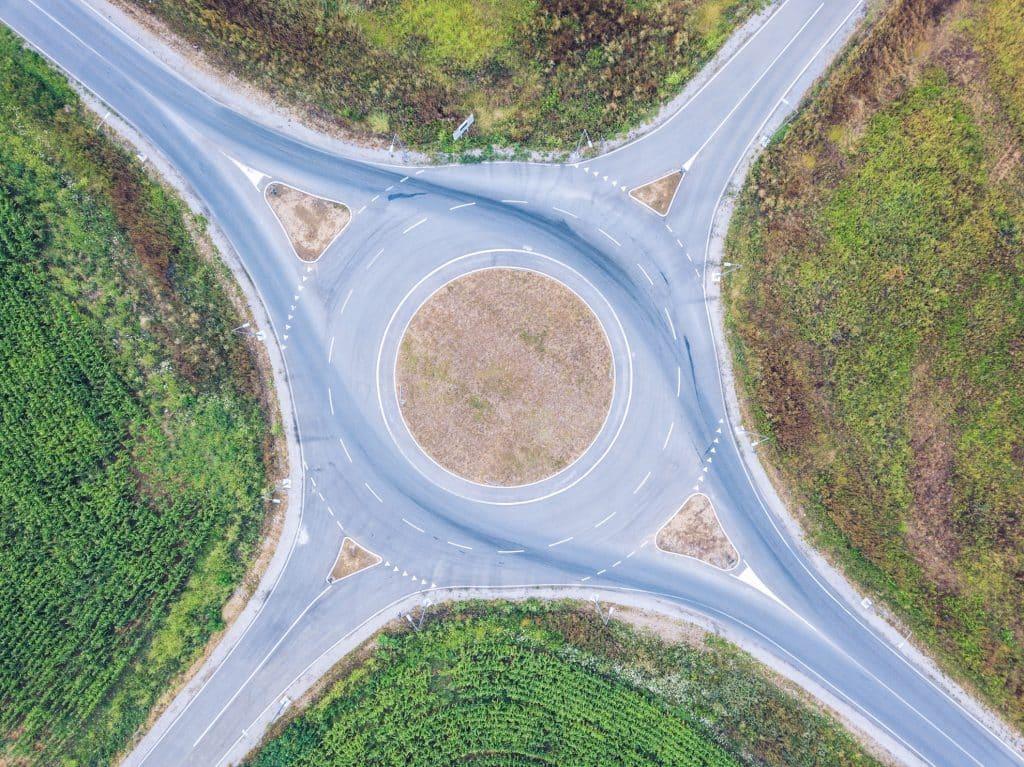 Kreise als Symbol für die Circular Economy.