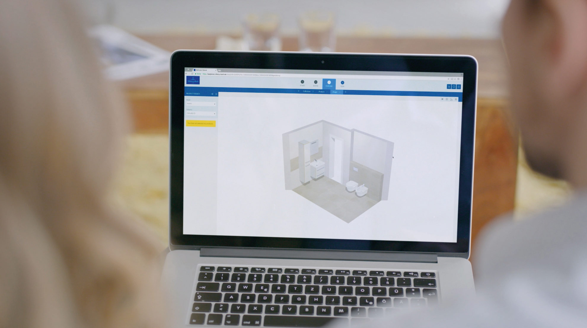 Abbildung einer virtuellen Planung.