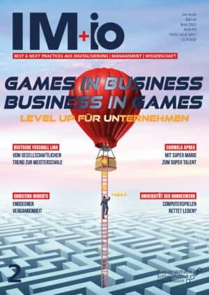Titelbild Heft 4 IM+io Games in Business Business in Games